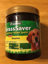 New listing NaturVet Grasssaver Soft Chews Jar with Enzymes for Dogs 120 count