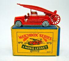 "MATCHBOX RW 09a Fire Engine come nuovo in ""Moko"" BOX"