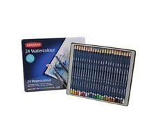 DERWENT WATERCOLOUR pastelli acquerellabili scatola metallo 24 matite art. 32883
