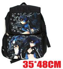 Black Rock Shooter Covers Backpack Computer Bag School Travel shoulder bag  new