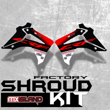 2013 2014 2015 2016  HONDA SHROUD DECALS CRF 450R GRAPHICS KIT CRF450R THICK