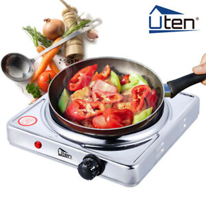 UTEN Electric Hot Plate Portable Induction Cooker 1500W Burner Stove Kitchen