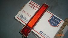 1970 Cadillac DEVILLE FLEETWOOD RED SIDE MARKER LIGHT LENS FOR REAR TAIL LIGHT F