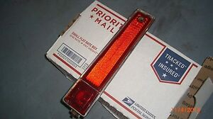 1970 Cadillac DEVILLE FLEETWOOD RED SIDE MARKER LIGHT LENS FOR REAR TAIL LIGHT