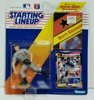 SCOTT ERICKSON MINNESOTA TWINS Starting Lineup MLB SLU 1992 Figure, Poster, Card