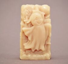 GHOST SILICONE  MOLD SOAP MOULD  PLASTER clay wax resin  HALLOWEEN