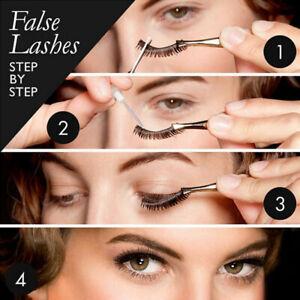 5 PAIRS DEMI WISPIES Fake Eyelash Natural Long False Eye Lashes Lash Free P&P UK