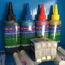 ECOFILL Printer Ink REFILLABLE Cartridge For Epson Expresion Home XP 345 432 435