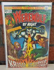 Werewolf By Night #8 - 1973 - Marvel Comics Group - Backed & Boarded