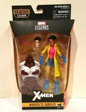 HASBRO MARVEL LEGENDS CALIBAN B. A. F SERIES JUBILEE(JUBILATION LEE)WITH TORSO