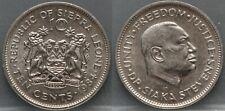 Sierra Leone - ten 10 cents 1984 - nice!