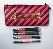 NEW MAC Nutcracker Sweet Mineralize Brush Set w/ Cosmetic Bag~5 Brushes~NIB
