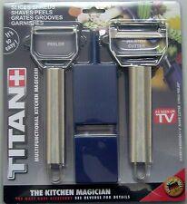 Titan peeler Fruit Vegetable peeler Julianne maker Kitchen Tool utility shreder