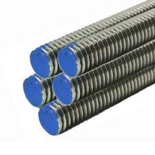 18-8 Stainless Steel Threaded Rod, Size: 1/2-13, Length: 36 inches (5 Pack)