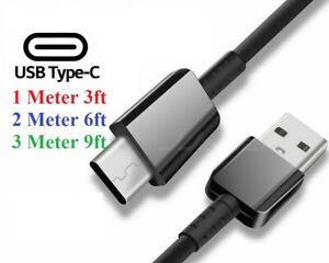 OPPO A53   A72    A5 2020   A9 2020 Charger Charging Cable Wire Black Fast Lead