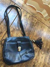 womens handbags and purses/Tignanello Black Leather Shoulder Bag