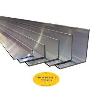 Barra Profilo Angolare Alluminio Anticorodal estruso lega 6060 mm 20x20x2 mt 2