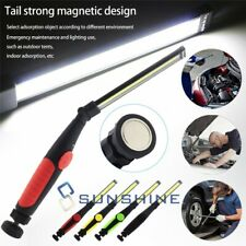 10000lm Rechargeable Cob Led Work Light Lamp Magnetic Flexible Cordless Torch