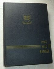 1948 Yale University Banner Original Yearbook President George H W Bush Photos