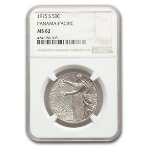 1915-S Panama Pacific Half Dollar MS-62 NGC - SKU#170932