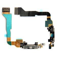 FLEX DOCK CARGA DATOS USB 30 PINES IPHONE 4 NEGRO