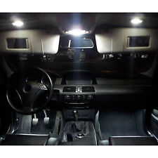 SMD LED Innenraumbeleuchtung komplett Set BMW E63 E64 6er Weiß Coupe QP Cabrio