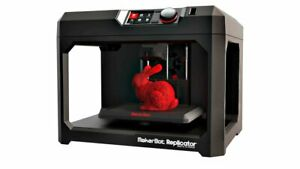 1 x MakerBot Replicator 5th Generation 3D Printer Prototype PLA ABS School Desig
