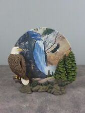 "Hamilton Collection ""Noble Watch"" Decorative Plate / Wings Of Freedom / Eagle"