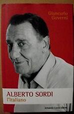 Giancarlo Governi ALBERTO SORDI l'Italiano /prima edizione Armando Curcio 2010