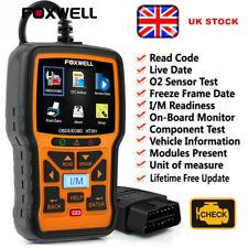 OBD2 Fault Code Reader Scanner Engine Car Diagnostic Reset Tool Foxwell NT301 UK
