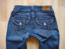 TRUE RELIGION Original Jeans W26-24/L30 wNEU Optik super Waschung weicher Stoff