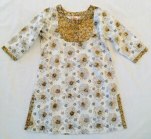 Block Print Girls' Cotton Tunic New from India