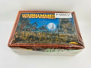000CV Warhammer FB Comtes Vampires  Boîte régiment guerriers squelettes scellée