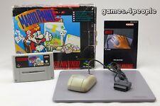 Mario Paint + Maus (Mouse) in OVP - Zeichnen/Malen auf dem Super Nintendo / SNES