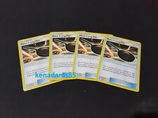 4 x Pokemon SM6 Forbidden Light Metal Frying Pan Trainer Cards 112/131