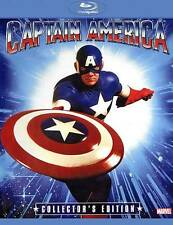 CAPTAIN AMERICA New Sealed Blu-ray Collector's Edition 1990