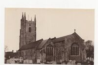The Church Lydd Vintage RP Postcard 150a