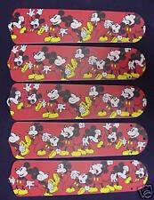 Disney lighting ceiling fan blades ebay new mickey mouse disney 52 ceiling fan blades only aloadofball Images
