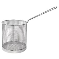 """Stainless Steel Frying Scampi Basket Spaghetti Pasta Basket Catering 6"""" x 6"""""""