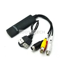 EasyCAP USB2.0 1 channel Video Capture Card AV / BNC to USB TV DVD VHS Audio