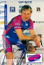CYCLISME  carte cycliste ZBIGNIEW SPRUCH  équipe LAMPRE 2000