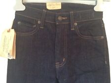 100 Auth Ralph Lauren Madison High Rise Navy Flare Jeans. 27