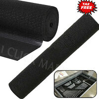 Tool Box Liner Non Slip Select Grip Lining Pad Drawer Shelf Foam Rubber Mat Roll