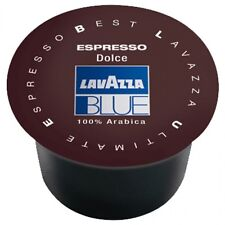 100 CAPSULE DOLCE LAVAZZA BLUE CAFFE' ORIGINALI CIALDE OFFERTISSIMA