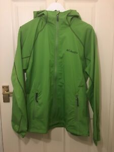 mens columbia Softshell jacket In Green Size Large