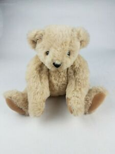 """Vermont Teddy Bear 16"""" Brown Jointed Plush"""