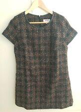 Next New Tailored Wool Blend Dress Size 14 Petite - Office/Work