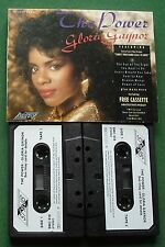 Gloria Gaynor The Power inc The Eye of The Tiger + Cassette Tape x 2 - TESTED