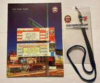 Vintage 1999 Final Opening Day And Final Game Package. Detroit Tigers