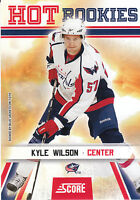 10/11 SCORE GLOSSY ROOKIE RC #516 KYLE WILSON BLUE JACKETS *8171